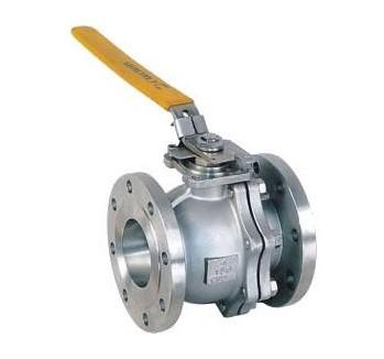 2-Way Floating Ball Valve, Cast Steel, PEEK