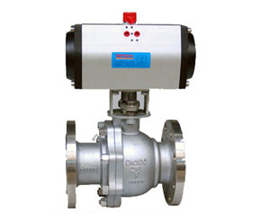 Cast Steel Pneumatic Floating Ball Valve