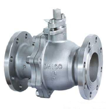 Flanged Full Bore Ball Valve, 2-piece, Cast Steel