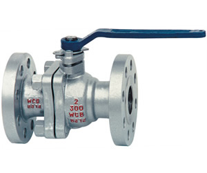 Floating Ball Valve, Cast Steel, PTFE Seat