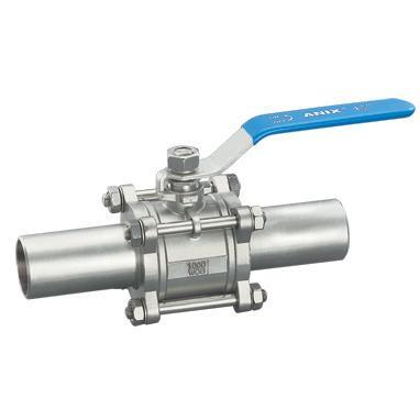 Three-piece Floating Ball Valve, High Pressure