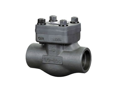 Forged Steel Lift Check Valve, Welded Bonnet