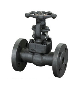 Flanged Forged Steel Gate Valve, Metal Seated