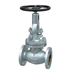 DIN Cast Steel Globe Valve, Outside Screw Stem